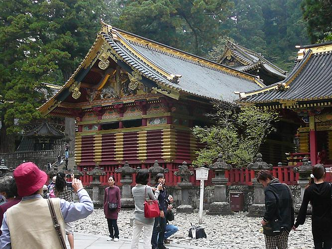 "Nikko Toshogu Shrine in memory of first Shogun ""Leyasu Tokugawa"""