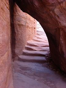 Staircase in Petra