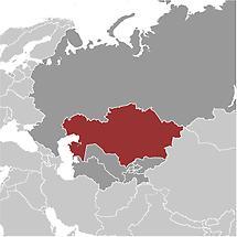 Kazakhstan in Central Asia