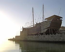 Arab sailing vessel