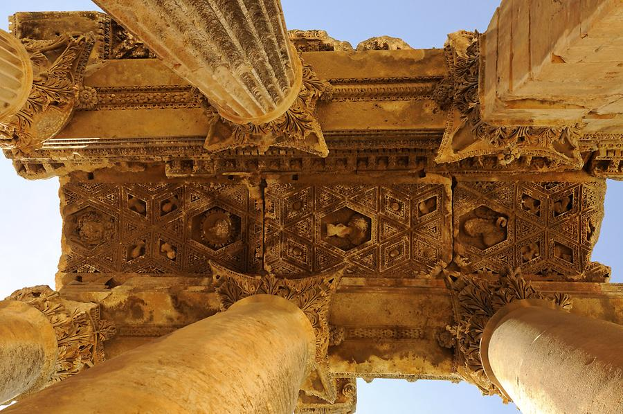 Ceiling of the Temple of Bacchus