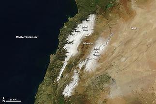 Jebel Liban and Jabal ash Sharqim