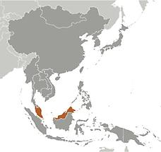 Malaysia in East And SouthEast Asia