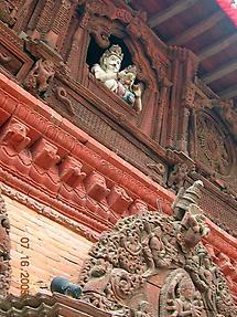Shrine to Shiva and Parvati