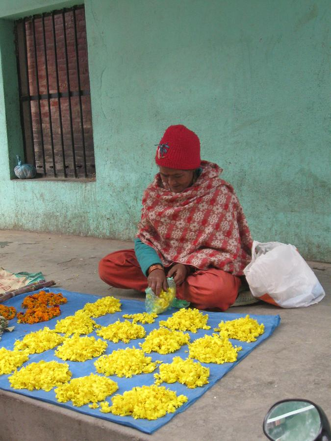 Patan Floral Offering