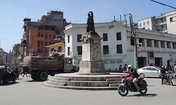 Kathmandu New Road ruler memorial