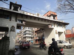 Kathmandu the last preserved city gate