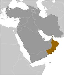 Oman in Middle East