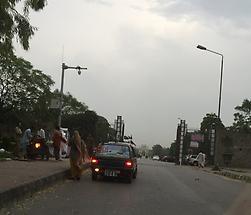 Fatimah Jinnah Park main gate