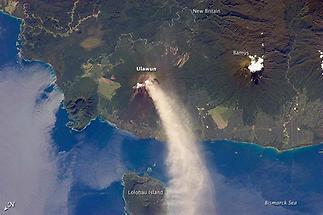 Ulawun Volcanoe