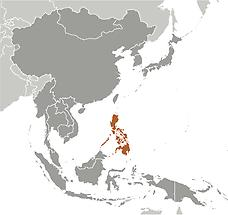 Philippines in East And SouthEast Asia