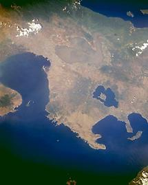 Trilobed Laguna de Bay