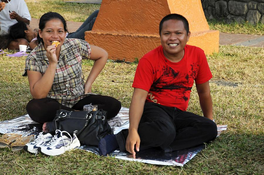 Picnic in the Rizal Park