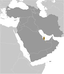 Qatar in Middle East