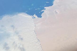 Massive sandstorm