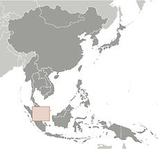 Singapore in East And SouthEast Asia
