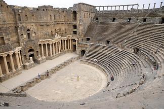 Roman theatre at Bosra (4)
