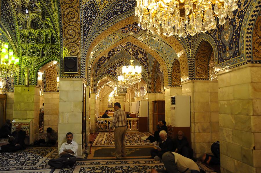Inside the Ruqayya Mosque