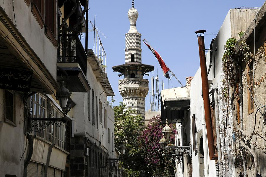 Old town of Damascus