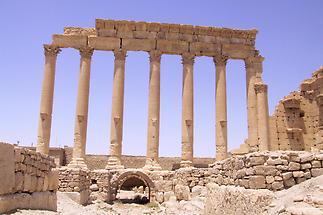 Temple ruins, Palmyra