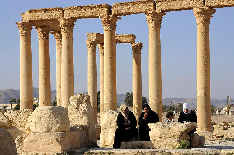Grand Colonnade of Palmyra