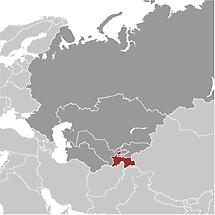 Tajikistan in Central Asia
