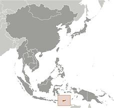 Timor-Leste in East And SouthEast Asia