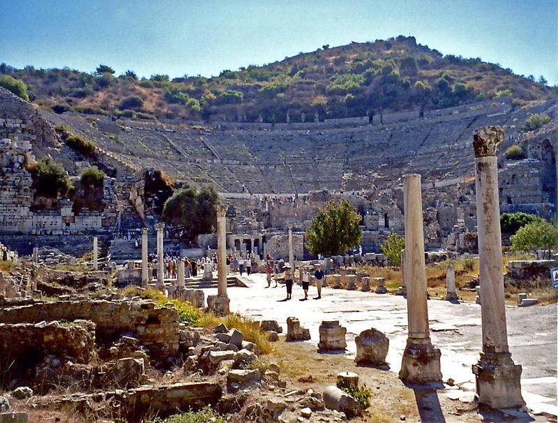 The Great Theater in Ephesus (3)