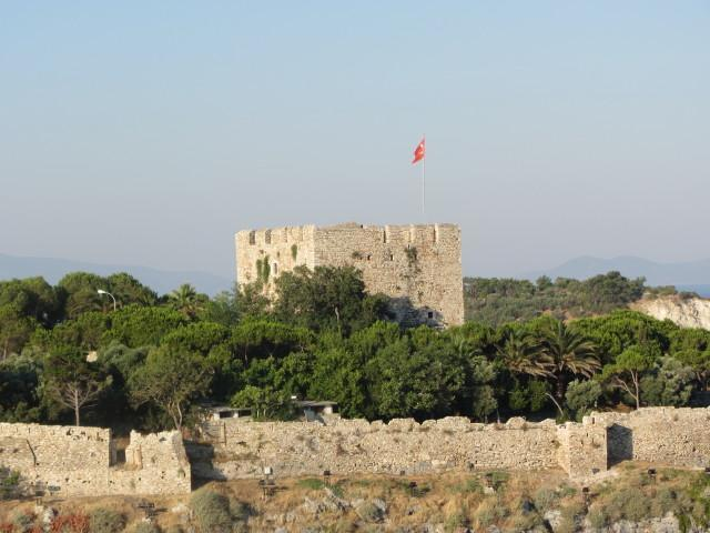 Castle on Pigeon Island