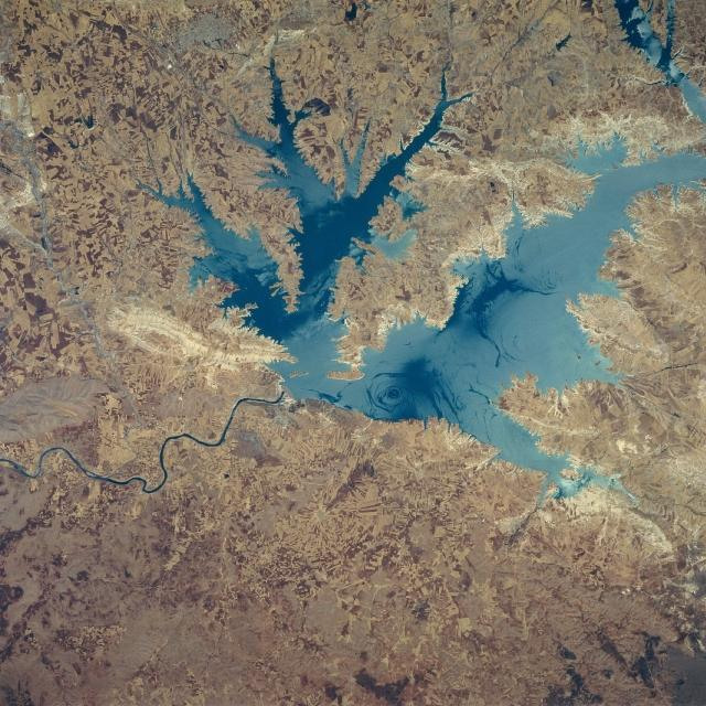 Ataturk Reservoir and Dam