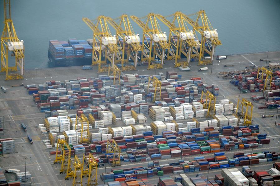 Container Port in Dubai