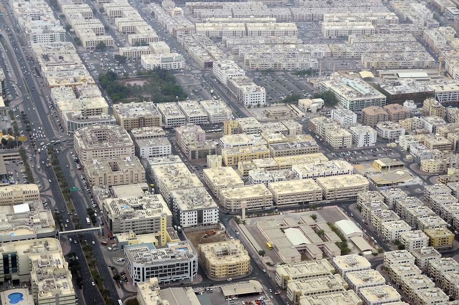 Deira Viewed from Above
