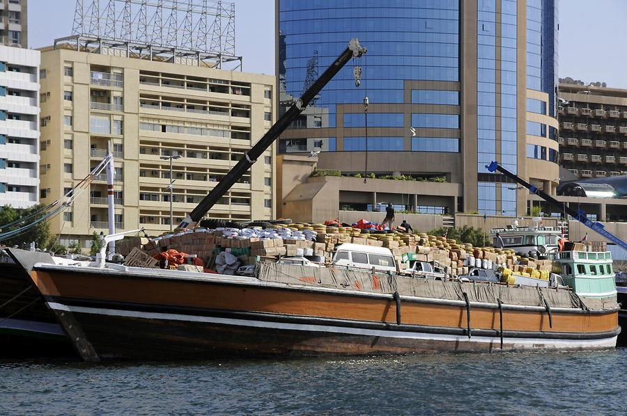 Dhows on Dubai Creek