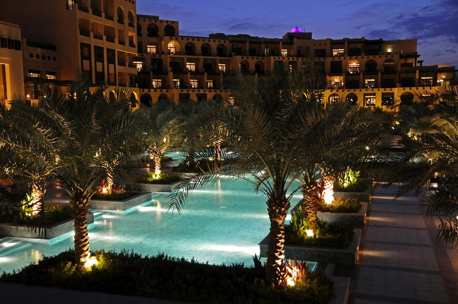 Hilton Ras al Khaimah at Night