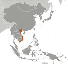 Vietnam in East And SouthEast Asia