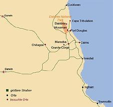 Surroundings of Port Douglas