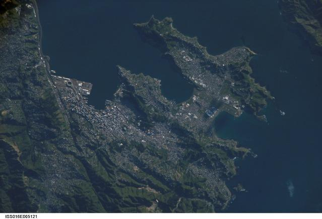 Wellington from Satellite
