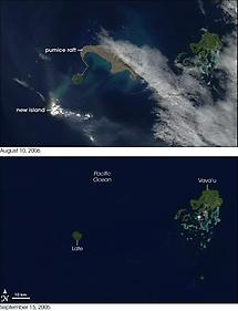 Before and after Eruption (2006)