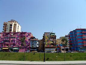Tiranas buildings
