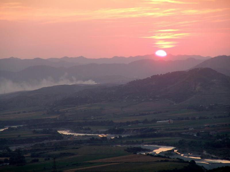 Sunset over the Dinaric Alps (2)