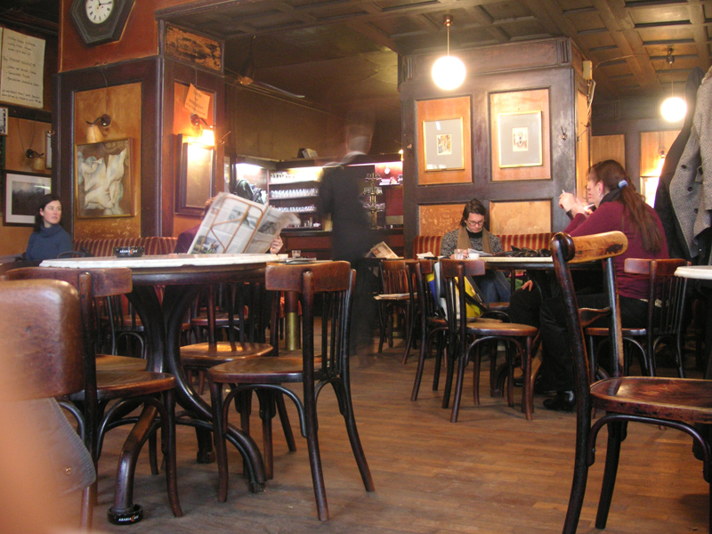 'Hawelka', the most famous coffeehouse in Vienna