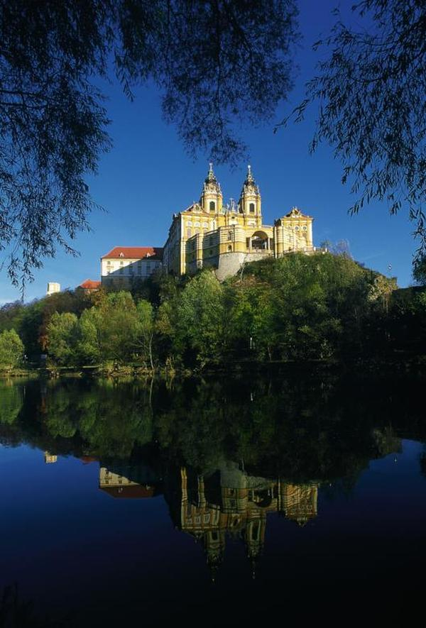 Monastery in Melk/Lower Austria