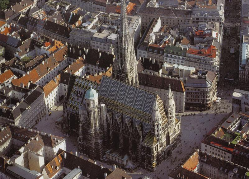 'Stephansdom', Cathedral in Vienna