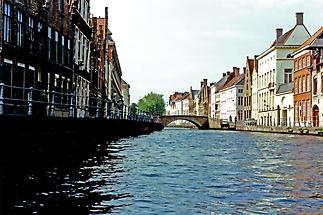 Bridge over Brugge canal