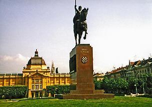 King Tomislav, Zagreb