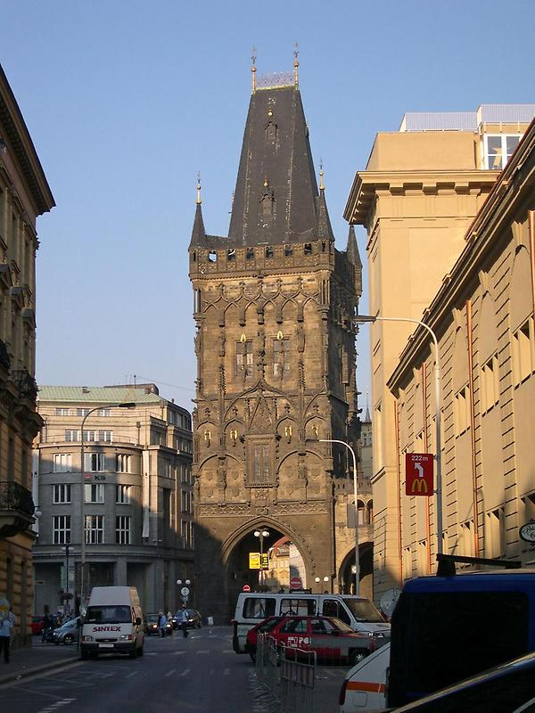 Gothic powder tower, Prague (1)