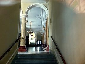 Liberec - Theater; Hall on the Ground Floor