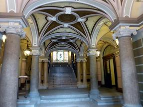 Liberec - Town Hall; Entrance Hall