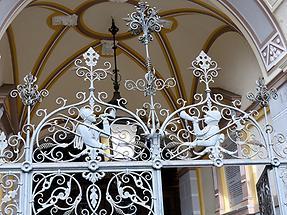 Liberec - Town Hall; Front Door