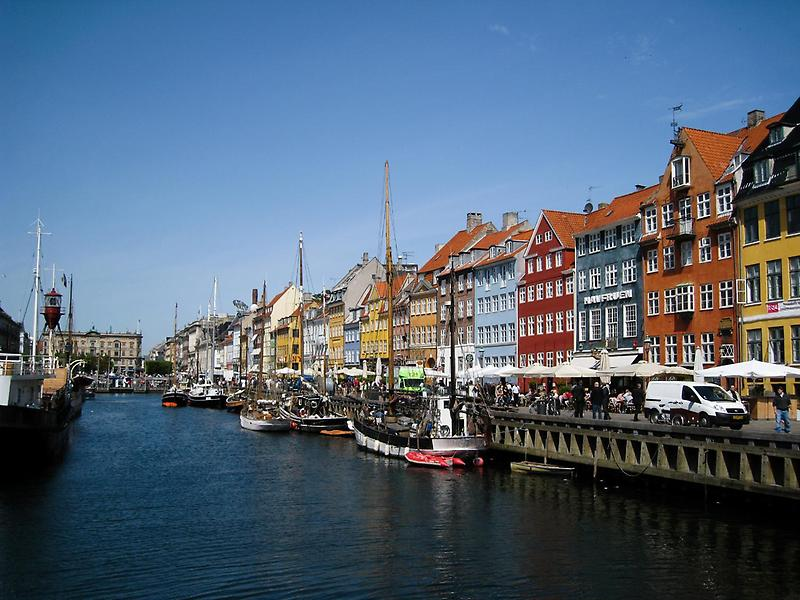 The Nyhavn, Copenhagen